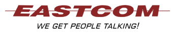 Eastcom We Get People Talking Logo